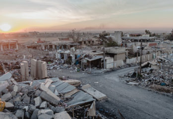 The predominantly Ezidi town of Sinjar (Shingal) located on the Syrian border. (Photo: Andrea Dicenzo)
