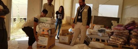 Food deliveries to Yezidi IDPs