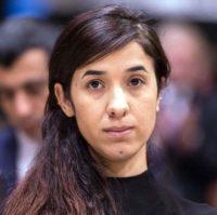 Nobel Peace Prize laureate Nadia Murad