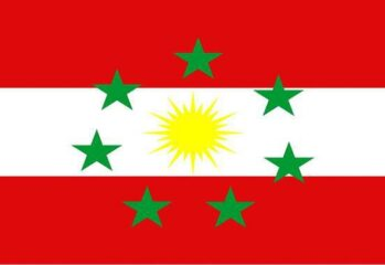 Ezidikhan national flag