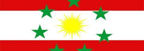 Ezidikhan national flag