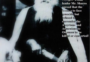 Prime Minister Waheed Mandoo Hammo's grandfather Hammo Shiro was the Pasha (high level official in the Ottoman Empire) and charismatic leader of the Yezidis in the late 1800s to early 1900s who offered sanctuary in Yezidi territory in the Shingal to at least twenty thousand Armenians. He is credited with having saved their lives in a bold and courageous act of defiance toward marauding Turks and Kurds during the Armenian genocide between 1915 and 1917.