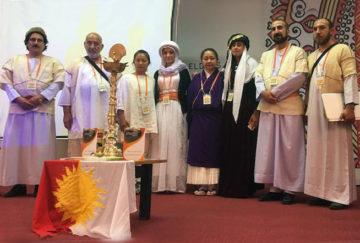 Yezidi delegatess at International Conference in Mumbai February 2018