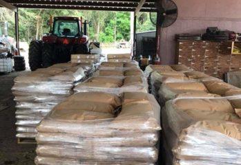 Seeds of Life seeds await shipment from New Delhi to Ezidikhan. Photo taken 2019-02-10