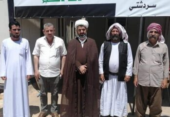 Delegates gather in Shingal in August 2020 to create the Confederation of Indigenous Nations of the Middle East Alliance